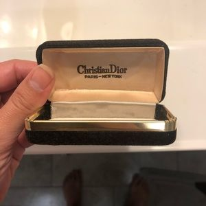 Vintage Christian Dior Ring / Jewelry Box